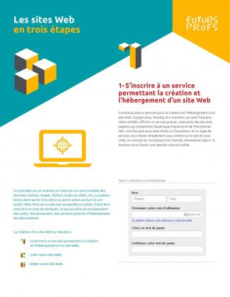Document : Sites Web en trois étapes (Les)
