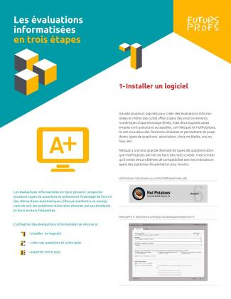 Document : Évaluations informatisées en trois étapes (Les)
