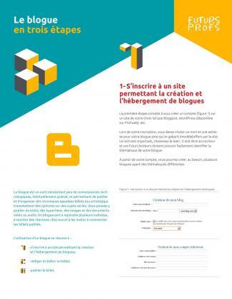 Document : Blogue en trois étapes (Le)