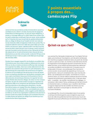Document : Caméscopes Flips - 7 points essentiels