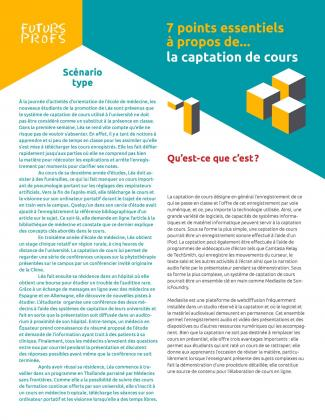 Document : Captation de cours - 7 points essentiels