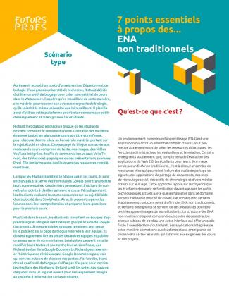 Document : ENA non traditionnels - 7 points essentiels